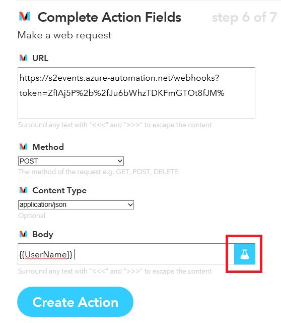 Azure Automation – Twitter + IFTTT + Webhook = Start Runbook