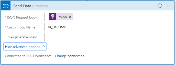 Azure Logic App – Send Data From Application Insights To