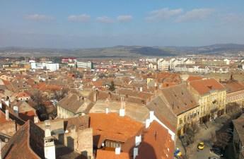 Vedere peste Sibiu