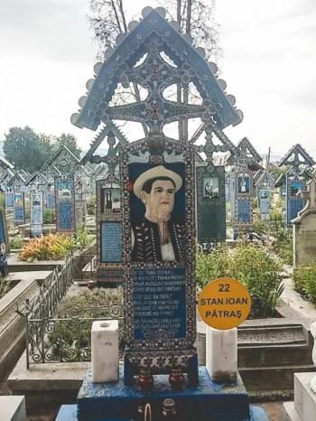 Stan Ioan Pătraș - Fondatorul Cimitirului Vesel