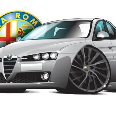 Alfa 159 ti silver