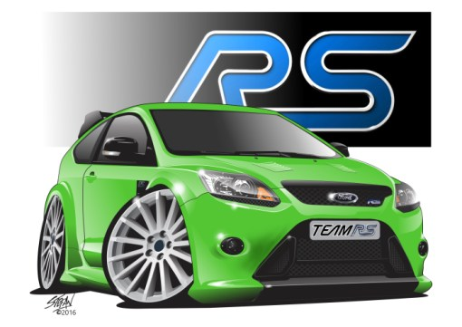 Ford Focus RS,