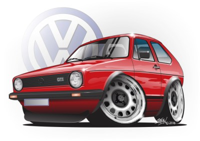 german steel, golf mk1 gti,VW GOLF GTI,