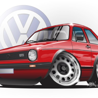german steel, golf mk1 gti,VW GOLF GTI,