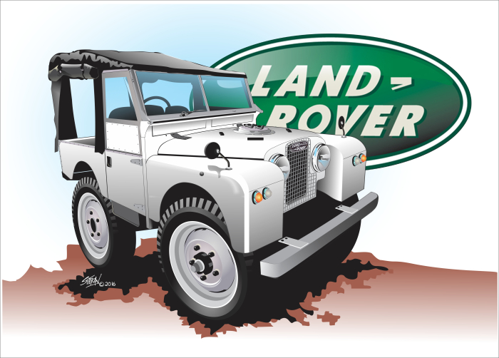 completed commissions, landrover series 1,
