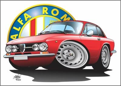 italian classics, auto art, alfa romeo