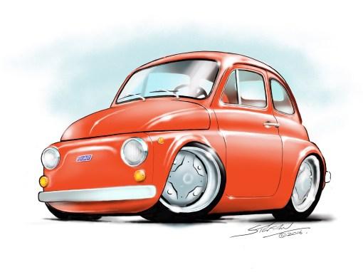 italian classics, fiat 500,