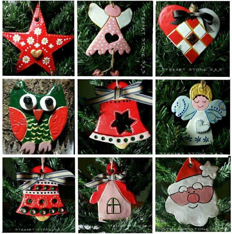 декорация, керамични орнаменти за украса, декоративни орнаменти, ръчна изработка, подаръци, ръчно изработени подаръци, коледни играчки за елха