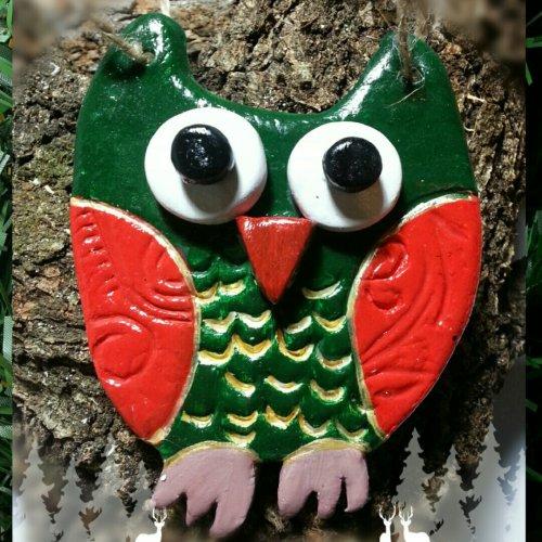 бухал, декорация за домам ръчна изработка, играчки, украса за дома и елхата