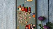 Картина пано от поредицата Шареното село