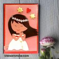 Картина за детска стая Ангелче