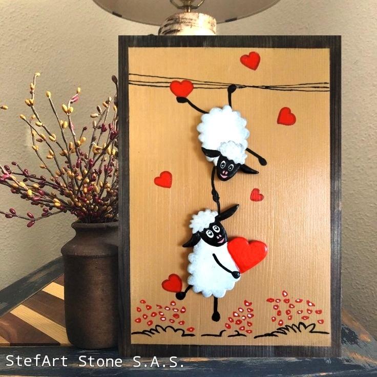 картина декоративно пано за стена любов