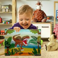 декорация за детска стая динозавър
