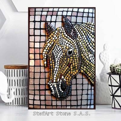 картина за стена кон, декорация за дома, коне, пана