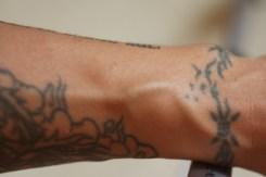 1er tatouage, tour de poignet - Manille
