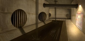 Sewers, environment design.