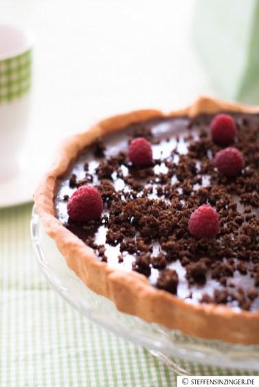 Schokoladen- Kaffeetarte (16 von 17)