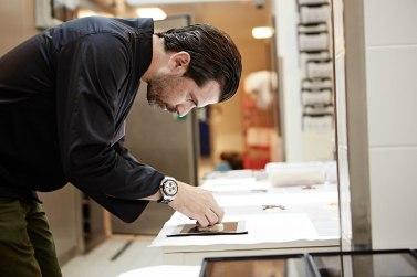 Der beste Koch der Schweiz servierte sein neues Gericht auf einem IPad