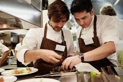 Nenad Mlinarevic und Souschef Sven Wassmer arbeiteten auch beim CookTank Hand in Hand
