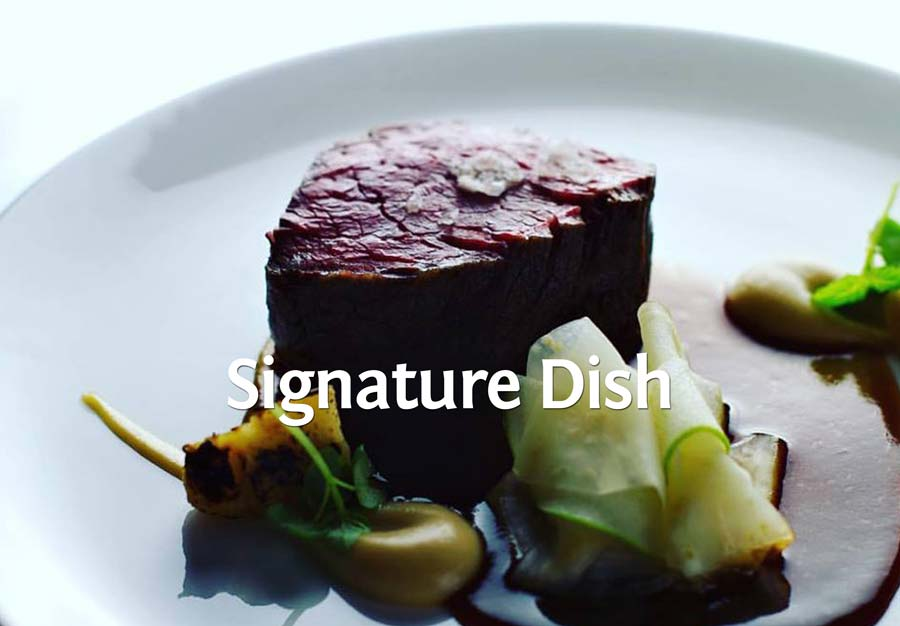 Ein Signature Dish von Daniel Lengsfeld