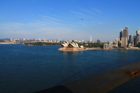View of the Opera House from the Harbour Bridge