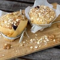 Potentielle Weltuntergänge und Haferflocken-Heidelbeer-Muffins