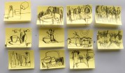 Post-it Doodles
