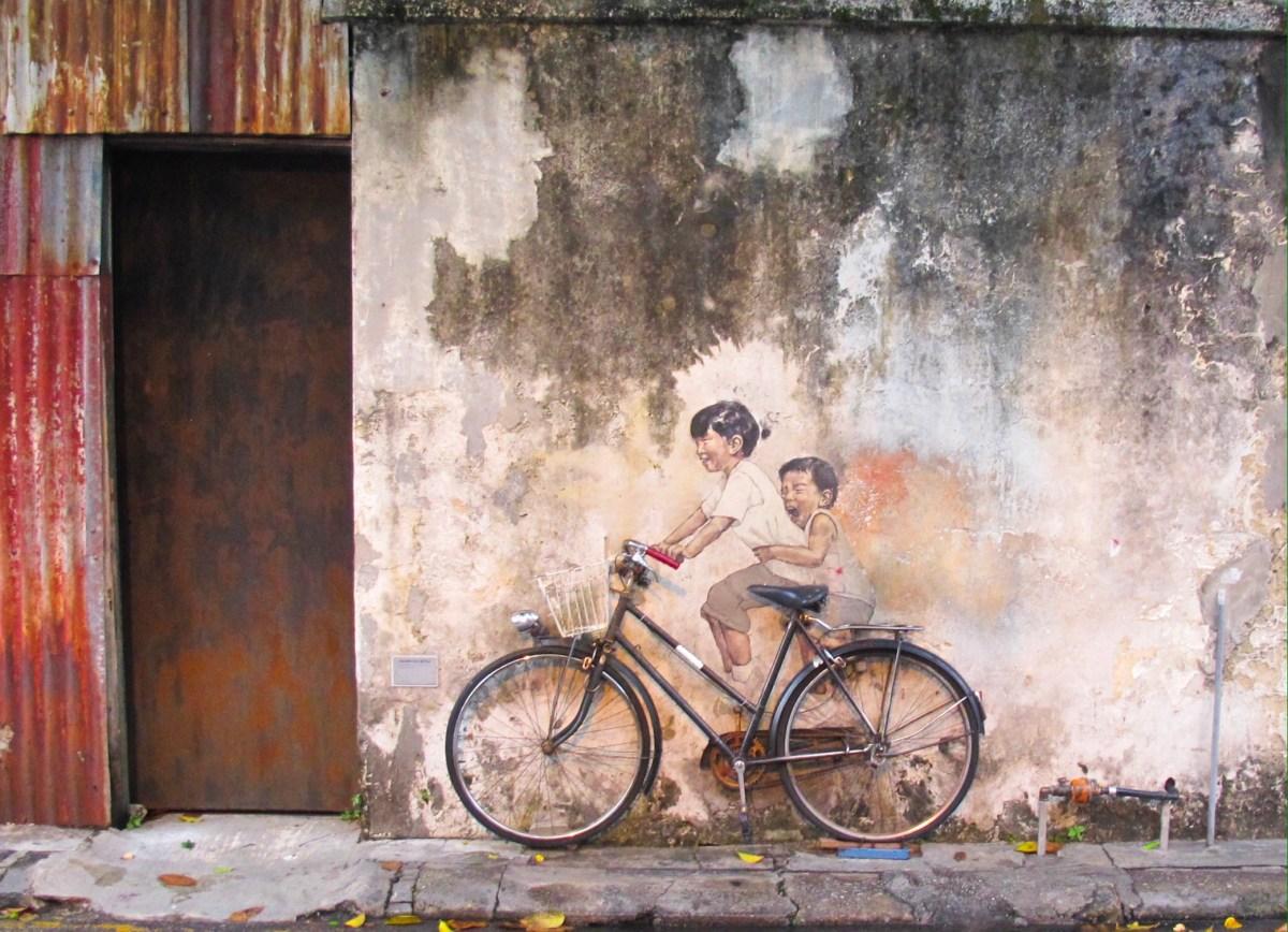Berburu Street Art di Penang