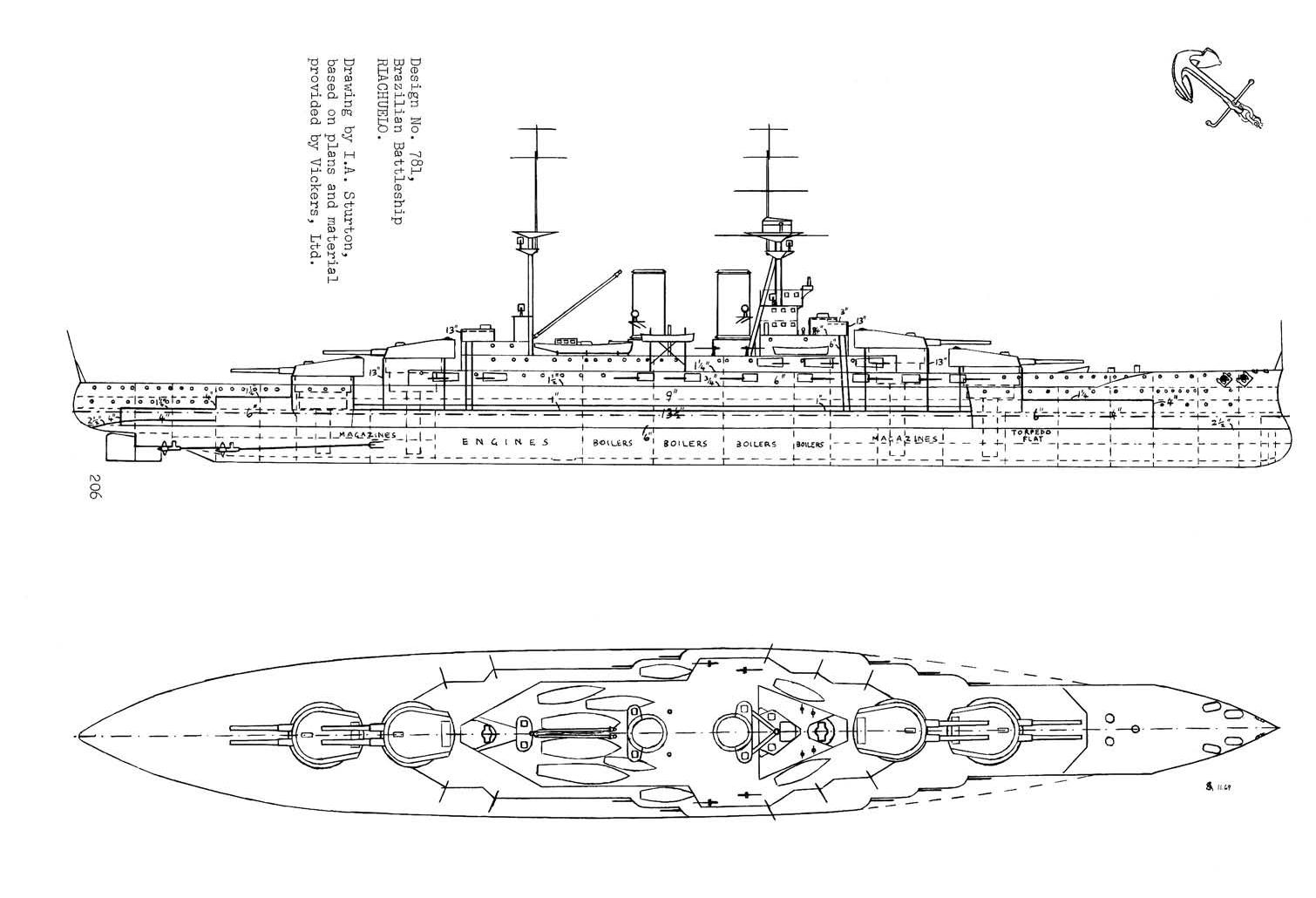 hight resolution of what if riachuelo class battleship