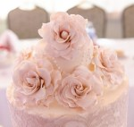 Roses atop a Wedding Cake
