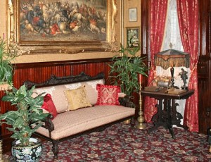 Gentlmen's Parlor at the Frederick Stegmaier Mansion