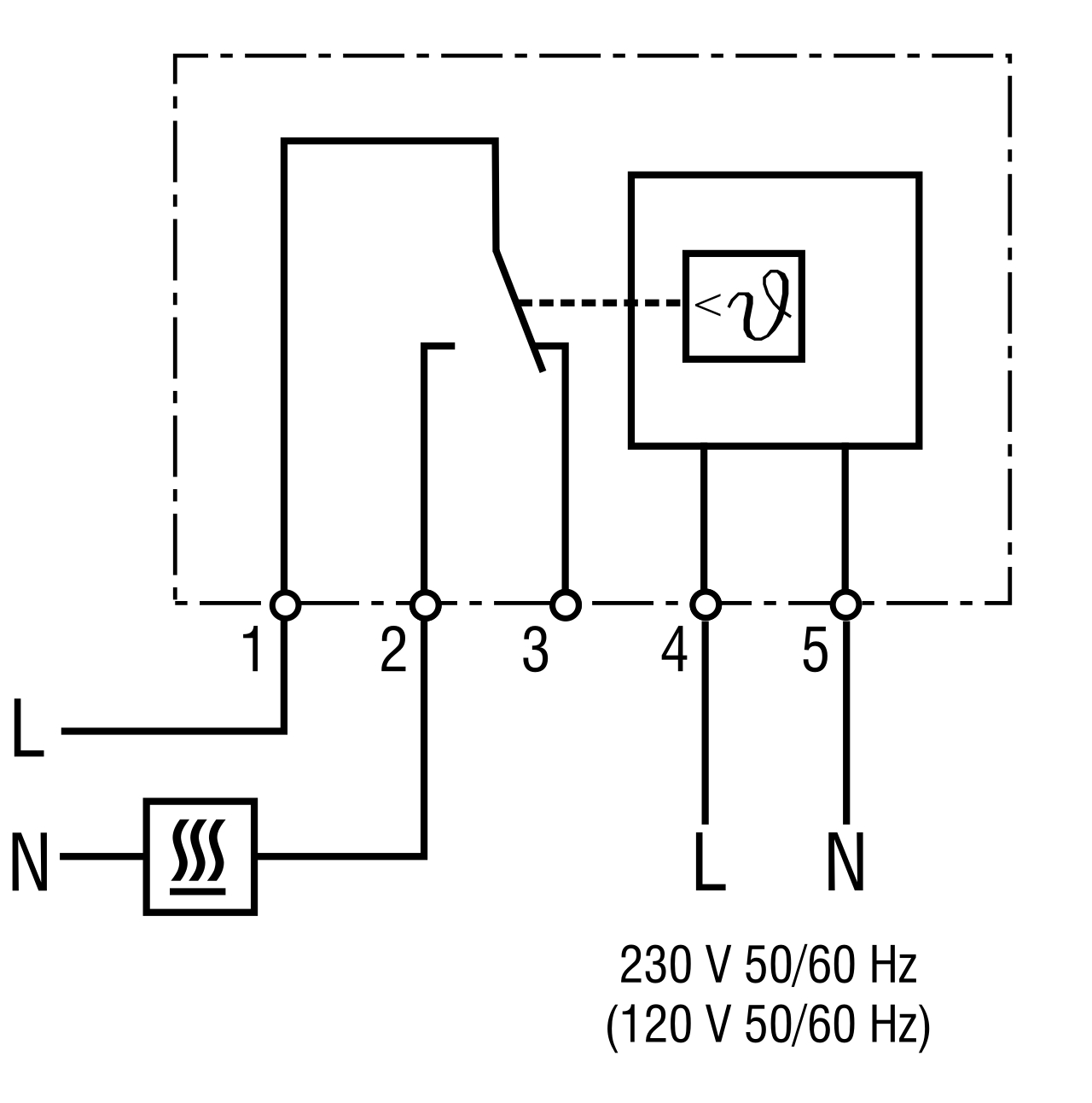 Part # 01131.0-00, Electronic Thermostat On STEGO, Inc.
