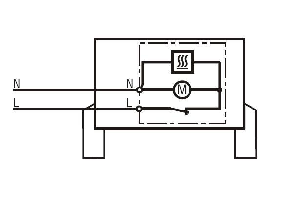 Part # 03059.9-00, Foot-mount Fan Heater On STEGO, Inc.
