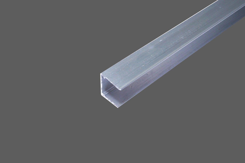 U Abschlussprofil Universal Fur 10 Mm Stegplatten Aluminium Pressblank