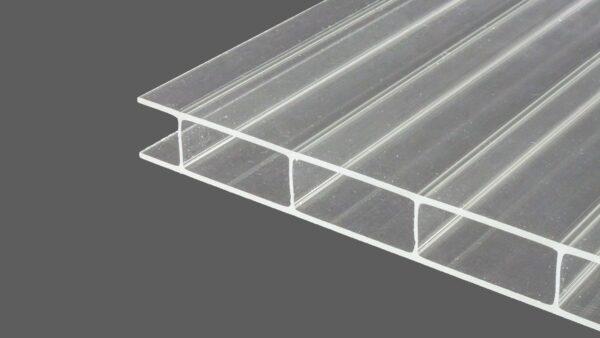 doppelstegplatten 16 mm klar x struktur marlon longlife. Black Bedroom Furniture Sets. Home Design Ideas