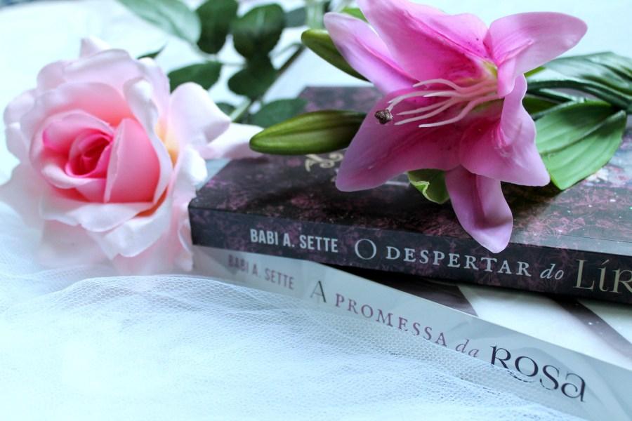 o despertar do lirio livro babi a sette romance de epoca nacional serie flores da temporada7