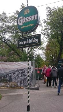 Ankündigung der Steiermark im Frühling