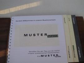 Speisekarte Buschenschank Weingut Muster