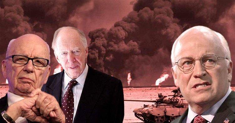 Cheney, Rothschild og Murdoch vil stjele Syrias olje
