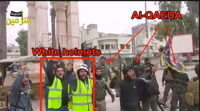 What happened to the White Helmets?