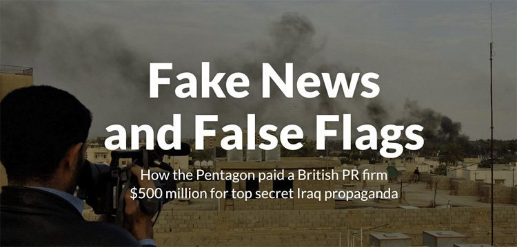 Falske nyheter på oppdrag for Pentagon