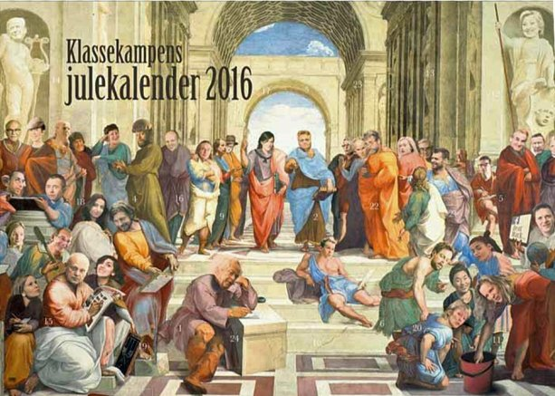 KKs julekalender 2016 - skolen i Aten