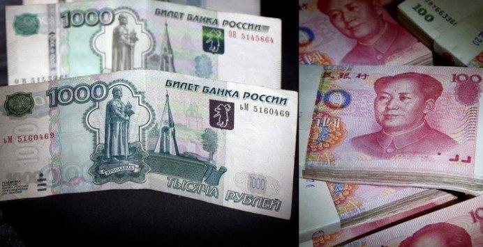 Kina og Russland dropper dollar i samhandel