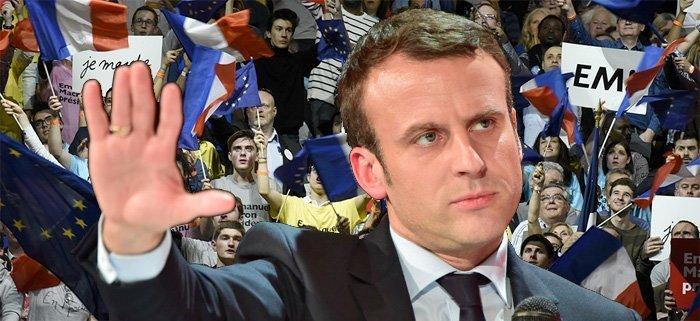 Hvem er Emmanuel Macron og hvem står bak ham?