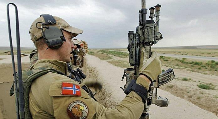 Norske styrker deltar i angrepskrig mot Syria