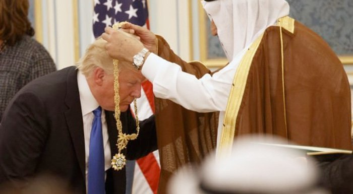 Donald Trump i Saudi-Arabia: – Iran er hovedkilden til terror i verden