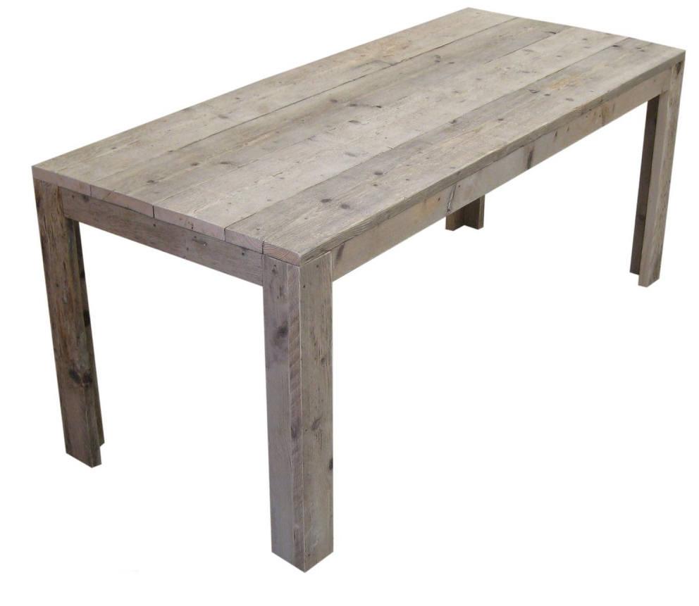 Tafel van steigerhout doe het zelf voorbeeld van gratis