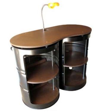 Olievaten recyclen als meubilair olievat als bank of kast