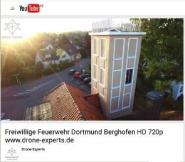 Drohne überm Steigerturm