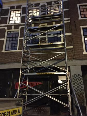 steigerverhuur hoog gebouw